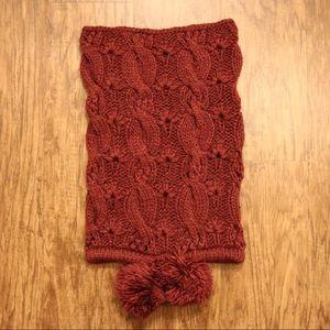 aerie pom-tastic scarf